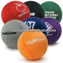 Lycra Gel Stress Ball/Tpr Water Bounce Ball/fabric cloth skip ball