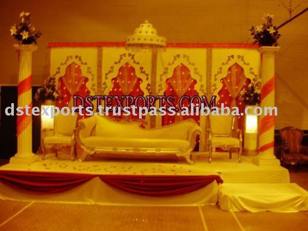 LATEST INDIAN WEDDING STAGE SET