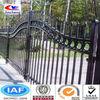 ornamental aluminium gates/garden gate aluminum/aluminium fence gate/black aluminum fence(17 years facoty&ISO)