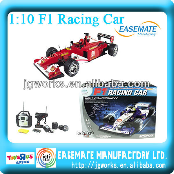 Formula 1 racing rc car with LCD 1/10 F1 rc car