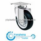 medium duty electric rubber caster wheel