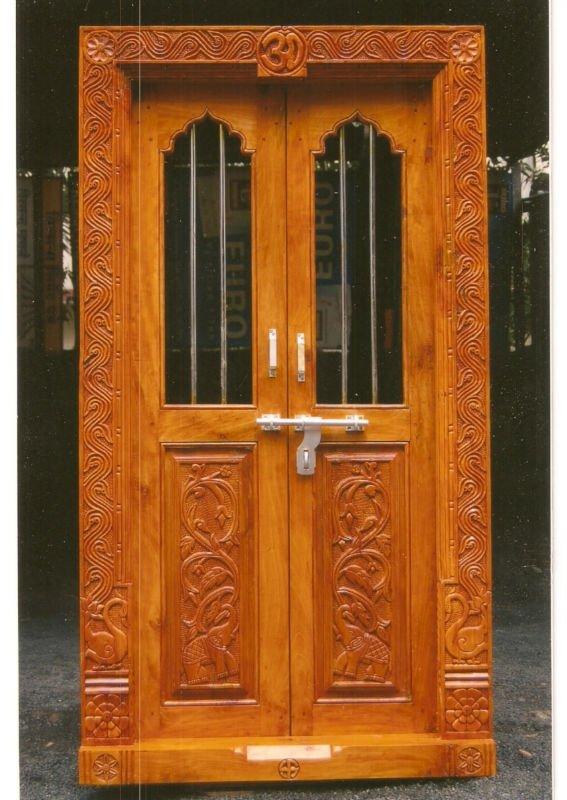 wooden frame doors wood doors