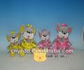 Duas cores mouse & minnie mouse plush & mouse de pelúcia