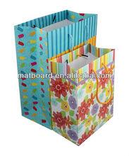 custom kraft paper shopping bag