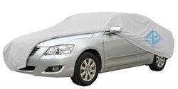 190T Silver Car Cover