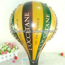 custom printing foil material hot air balloon price