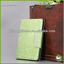 Luxury Book Leather Case for iPad mini,Flip PU Case for iPad mini