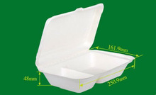 pulp food container