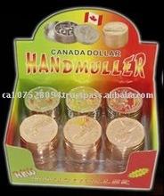 Canada Dollar Herb Grinder*****Tobacco Grinder 3 parts
