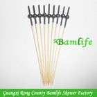 120mm china decorative cocktail bamboo sticks paint colored