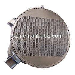 Titanium & Carbon Steel shell Tube Sheet Heat Exchanger