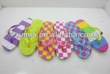 popular latest design flat sandals 2013