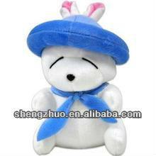 popular and fashion plush fruit rabbit toys