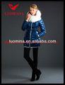 nuevo estilo de invierno dama abrigos largos zanja para las mujeres