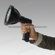 2012 Newest!!Cree T6 10W LED rechargable led portable searchlight camping lantern design