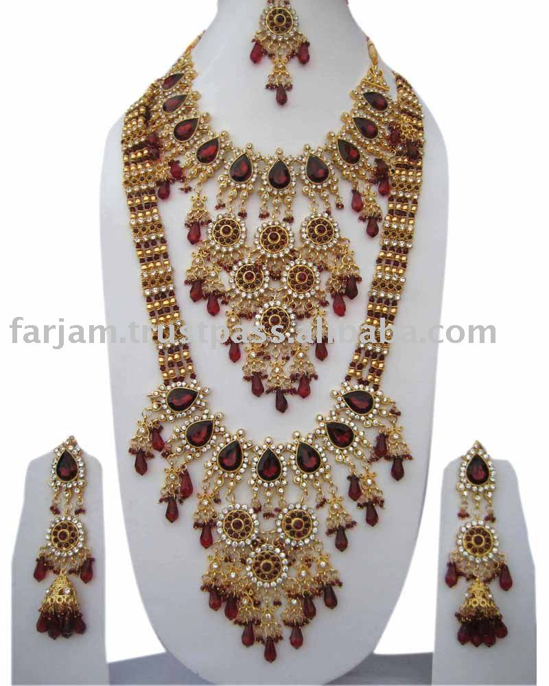 INDIAN WEDDING BRIDAL JEWELRY BRIDAL JEWELRY