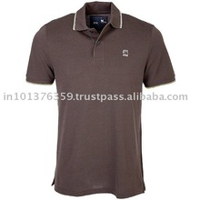 Corporate wear fitted polo t shirt