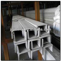 mild steel welded U section C-channel structural profile U bar