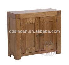madera maciza de roble 2 puerta de madera dresser rc2s base