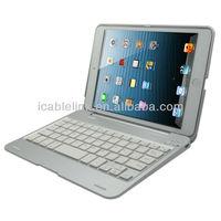 for ipad mini bluetooth keyboard ,ultra slim aluminum wireless bluetooth keyboard for mini ipad
