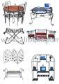 De hierro forjado muebles para el hogar, el hogar de hierro acentos