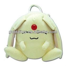 cute/lovely plush&stuffed pokemon/pet backpack toy for kids