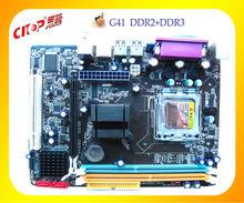 Intel G41 Xeon motherboard DDR2 +DDR3LGA775,High Quality motherboard