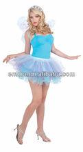 Fantasy Fairy Spring Tutu Blue Purple Sprite Nymph Women's COstume CC153