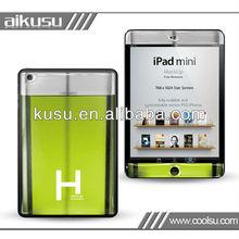 Nail polish 3d case for mini ipad