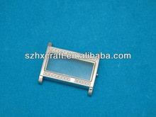 square shape jewelry made from watch parts