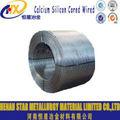 las propiedades físicas de silicio de calcio alambre tubular