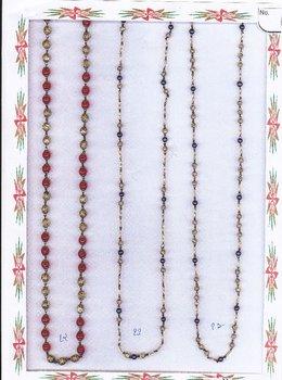 brass beads mala