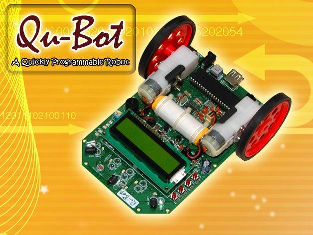 Qu-bot, robot programmabile kit per principianti& gli utenti avanzati