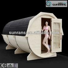 Outdoor barrel sauna room quick lose weight sauna
