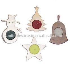 Christmas Tea Lights, Christmas Ornaments.