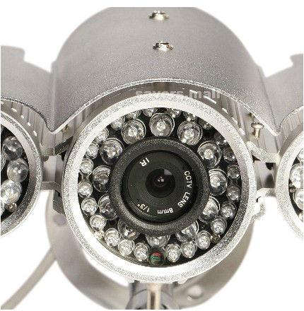 Long Range Night Vision High Resolution CCTV IR Surveillance Security CCD Camera