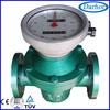 measuring petroleum, oil, diesel or gasoline liquids gear flow meter
