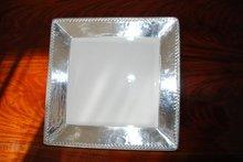 Ceramics and tin tray