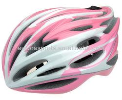 carbon fiber open face helmet, pink cross helmet for lady