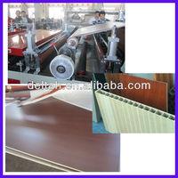 Wood plastic window board production line