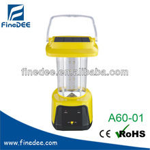 A60-01 Camping Lantern LED Solar Rechargeable Light