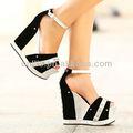 atacado senhoras cunha sapatos plataformas moda sandálias pq2430