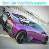 Car Accessories Auto Car Vinyl with Chrome Purple