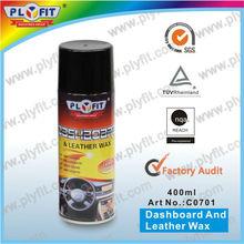 dashboard spray wax