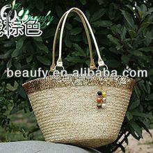 noble special offer ladies straw leisure single shoulder bag