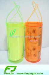 custom clear plastic cooler wine bag