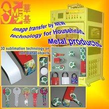 Vacuum Heat transfer machines on metals (Coating treatment) surface