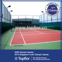 Outdoor waterproof rubber sports floor tiles for tennis