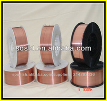 AWS A5.18 ER70S-6 Solid wire Drum packed/Robot/Mig/Sg2 Sg3/Co2/Copper coated Mild steel welding wire er70s-6