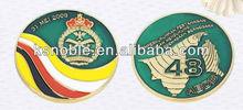 round enamel custom coin